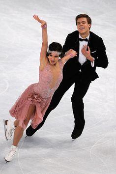 Elena Ilinykh Elena Ilinykh and Nikita Katslapov of Russia perform in the Ice Dance Short Dance during day one of Trophee Eric Bompard ISU G...