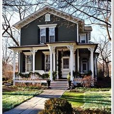 traditional exterior Historic Midwest Homes...beautiful!  You just don't see these homes in AZ like you do back home!