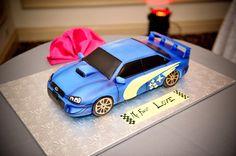 Subaru groom's cake