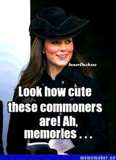 Reminiscing (The Inner Duchess of Kate Middleton)