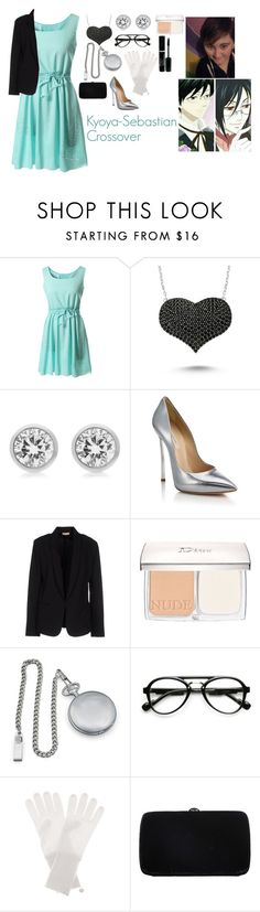 """""""Kyoya-Sebastian Crossover"""" by charbear231 ❤ liked on Polyvore featuring Amorium, Michael Kors, Casadei, Maesta, Christian Dior, Cathy's Concepts, Jardin des Orangers, Sergio Rossi, women's clothing and women"""