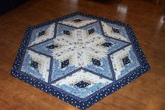 Quilted Christmas Tree Skirt Panels | Custom Quilts by Marybeth: Christmas Tree Skirts