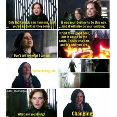 "Regina changes and becomes Good instead of Evil | ""Kansas"" 