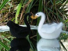 Free swan pattern at Roman sock--check out her other designs--they're wonderful