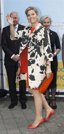 La reina Máxima de Holanda, periodista por un día - ¡HOLA!