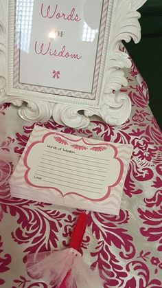 Desiree C's Baby Shower / Tutus and Tiaras - Photo Gallery at Catch My Party