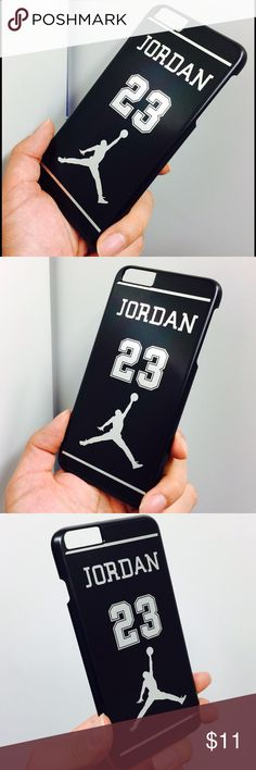 23 Air Jordan protective hard case i6+/6s+ Brand new customized design scratch protection NBA Legend Superstar 23 Michael Jordan hard protective case for iPhone 6 Plus /6s plus, 5.5 inch.  100% perfect design and excellent fitness. Slim, light weight design protect your valuable iPhone 6 Plus /6s  plus from scratches and damage.   Size: iPhone 6 Plus/ 6s plus, 5.5 inch  Color: Black  This case is also available for iPhone 6 and/or 6s. Please leave me a message if you need a case for the…