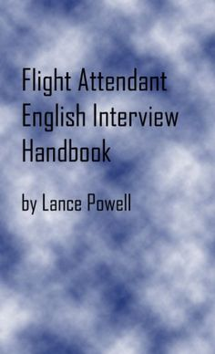 flight attendant english interview handbook