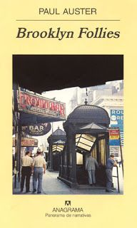 Paul Auster es uno de mis favoritos. Nathan Glass  de 60 años vuelve a Brooklyn, se ha recuperado de un cáncer de pulmón, allí se encuentra con su sobrino Tom, que se ha dado por vencido y encadena trabajos sin sentido a la espera de que su vida cambie, se irá formando un vínculo muy especial entre ellos.  Una novela muy al estilo Paul Auster con un protagonista solitario y con situaciones inesperadas