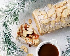 For filling: layer dulce de leche and mascarpone cinnamon whipped cream Cake Recipes, Dessert Recipes, Desserts, Dessert Ideas, Meringue Roulade, Recipe Details, Holiday 2014, Christmas Holiday, 3 Ingredients