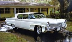 1958 Lincoln Continental Four Door Sedan Lincoln Motor Company, Ford Motor Company, Lincoln Continental, Vintage Cars, Antique Cars, 1950s Car, Lincoln Mercury, Us Cars, Custom Cars