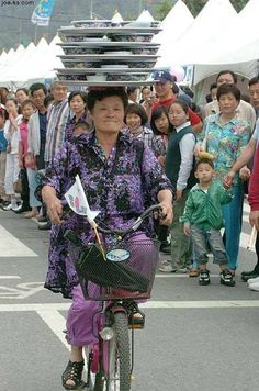 Mens en fiets