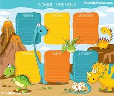 "Photo from album ""Расписание уроков"" on Yandex. Dinosaur Images, Dinosaur Funny, Dinosaur Crafts, Blog Writing, Writing Paper, School Humor, I School, Yandex, Timetable Template"