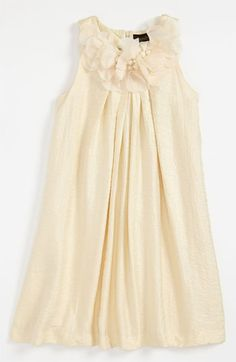 Jr bridesmaid- Laundry by Shelli Segal Trapeze Dress (Big Girls) available at #Nordstrom This would be so cute on rue!
