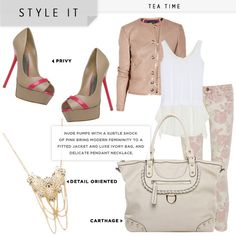 Another cute idea for a date night or lunch with the gurls.  Shoedazzle.com