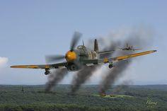 Hawker Typhoon ww2 / Aviation Art by Hyong, via Flickr