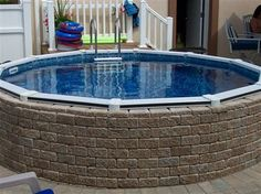 Great Above Ground Pool Landscaping With Above Ground Pool Landscaping Bing Images On Exterior Designs