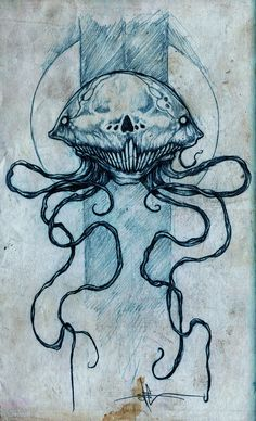 Skellyfish by ShawnCoss