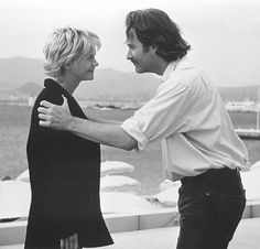 Kevin Kline and Meg Ryan in French Kiss