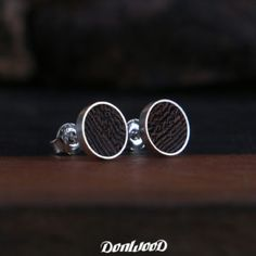 Wenge wood earring on DonWood.cz
