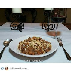 #Repost @callistaskitchen with @repostapp  Pasta Bolognese! Made with grass fed Angus ground beef uncured apple smoked bacon and organic brown rice pasta.  #foodporn #yummy #foodie #healthycooking #healthyeating #healthychoices #healthylifestyle #healthy #food #foodpic #instafood #cleaneating #organic  #glutenfree #grassfed  #nongmo  #fresh #spaghetti #italia #italian #pasta