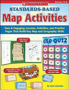Materials And Directions For Teaching Latitude And Longitude With - Us map crosswords scholastic professional books answers