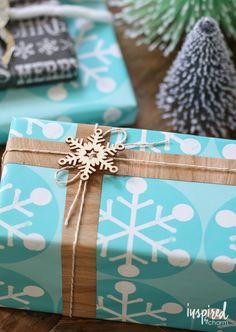 12 Creative Wrapping Ideas | Iinspiredbycharm.com #IBCholiday