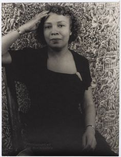 """Dorothy Porter Wesley (1905-1995) by Carl Van Vechten on May 23, 1951. A pioneering librarian at Howard for 43 years,the crucial, tireless work she did still impacts us today. In 1948, she bought a manuscript by a female fugitive slave that became the bestselling book, """"The Bondwoman's Narrative"""" by Hannah Crafts. In September 2013, Gregg Hecimovich of Winthrop University in S.C. found the real Hannah Crafts - Hannah Bond, a slave in N.C. who disguised herself as a man and escaped slavery."""