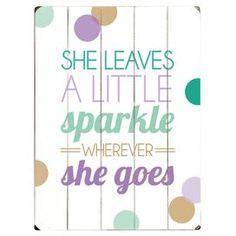 A Little Sparkle Wall Art