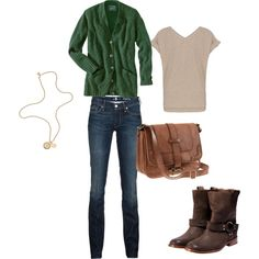 Fall...love the colors and boots!