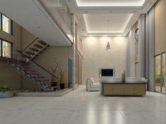 Imagen de pisos y azulejos de Salas de Estar