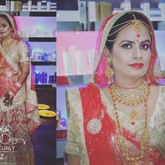 On the marriage occasion of our bride   Makeup  done @shortandcurlysalon  For appointments booking Contact - 9799969888 #weddingmakeup  #royalweddingplanners #jaipurtalks  #jaipurlitfest #jaipurjournal  #jaipurtales #jaipurpinkcity #humansofjaipurcity #sitarajaipur #jaipurmiles #thedressingroom_jaipur  #vasansi_jaipur #street.of.jaipur #beautifuljaipur #jaipurbeat #planetjaipur