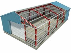 A Leading Supplier of High Quality Steel Products Metal Building Kits, Steel Building Homes, Building A Garage, Factory Architecture, Roof Architecture, Roof Truss Design, Building Foundation, Steel Structure Buildings, Steel Frame House