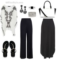 What to wear for date night after 40 | 40plusstyle.com