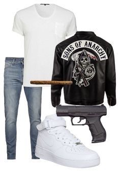 """JAX TELLER"" by styledbycharlieb ❤ liked on Polyvore featuring NIKE"