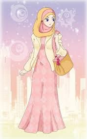 Image result for muslimah cartoon