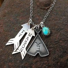 Mothers necklace by Silo Silver