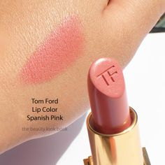 """Tom Ford Lip Color in Spanish Pink, $48  Tom Ford Lip Color in Spanish Pink  """"Because of its creamy formula, I apply it right out of its super chic case. It is the perfect flesh color with just a hint of pink. 'Cause sometimes less is more..."""" — Jenn Streicher    Tom Ford Lip Color in Spanish Pink, $48, neimanmarcus.com."""