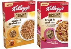 Save 50¢ on Kellogg's Origins cereal!