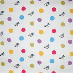 Wondercrump - Spot - £12.95 per metre from Kids Fabrics Online Shop