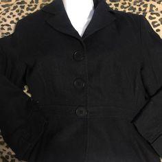 Harold's size 4 blazer Gently used black blazer Harolds Jackets & Coats Blazers