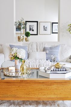 Winter decorating to me is all about being cozy! Nothing compares to the comfort of these soft down filled white textured throw pillows I found at HomeGoods. Have you noticed the great selection of coffee table books at HomeGoods? I've spent many happy hours searching the shelves for these fabulous books! Sponsored by HomeGoods