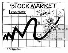Stock Market Cartoons - Bing images Political Cartoons, Funny Cartoons, Funny Memes, Efficient Market Hypothesis, Penny Stocks, Bull Riding, Have A Laugh, Financial Planning, Investors