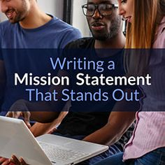 The best mission statements look outside of the nuts and bolts of what the nonprofit does and brings in the values of those they look to for support Best Mission Statements, Writing A Mission Statement, Vision Statement, Business Mission, Foundation Grants, Business Planning, Business Ideas, Grant Writing, Nonprofit Fundraising