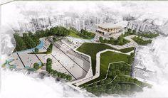 http://www.arkitera.com/proje/7934/karabaglar-belediyesi-kamusal-acik-mekan-ve-kent-meydani-kentsel-tasarim-yarismasi2 #landscapearchitecture