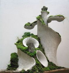 Robert Cannon Terra form Concrete Sculptures