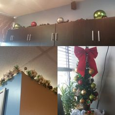 More Christmas decorations.