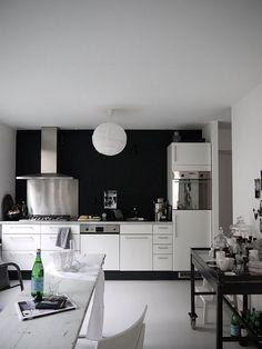 vosges paris chalkboard paint kichen white cabinets industrial chic