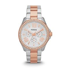 The belle of the ball. I love this watch! Maybe someone should buy it for me in celebration of my making it through one full year of school! ;)     Fossil Cecile Multifunction Stainless Steel Watch – Two-Tone
