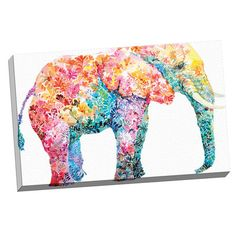 "Portfolio Canvas ""Elephant Gum"" by Maria Varela Painting Print on Wrapped Canvas & Reviews 